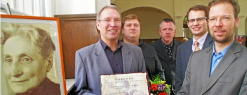 Grete-Unrein-Preis Ehrenamtspreis 2015